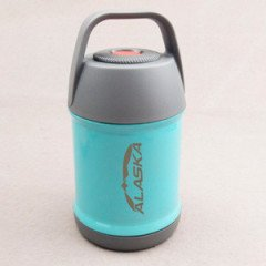 Термос с широким горлом ALASKA Yum-Yum Blue 450 ml